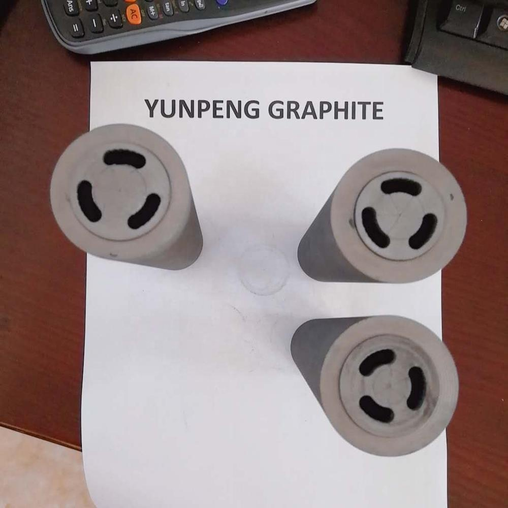graphite die with round core for cooper or brass stretching