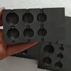 graphite die mold for glass drums and discs